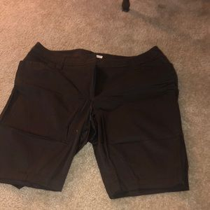 Black Burmuda shorts